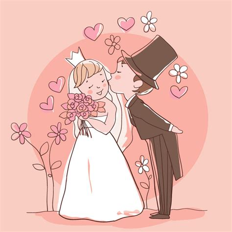 Hochzeit Comic by Wedding The Free Vector Graphic