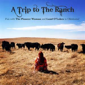 Trip to the ranch with the pioneer woman and land o lakes a