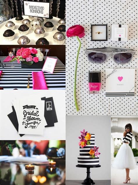themes black and white bridal shower themes black and white picture ideas