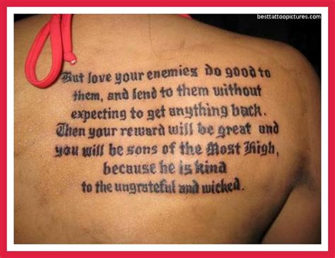 tattoo bible quotes about life christian quotes about life lessons quotesgram