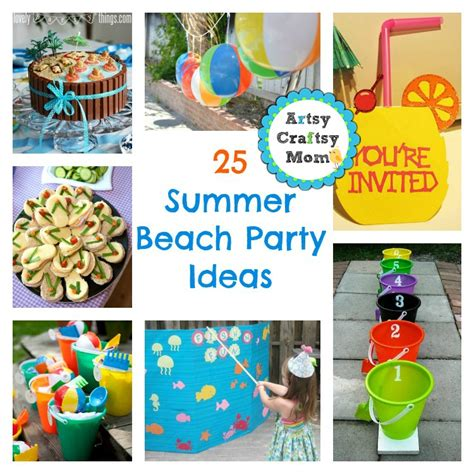 25 summer party themes 25 summer beach party ideas
