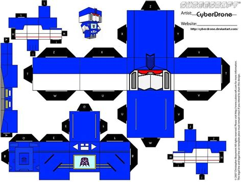 How To Make A Paper Transformer Bumblebee - transformers soundwave by cyberdrone on deviantart
