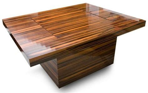 coffee table w flip out chess board diy