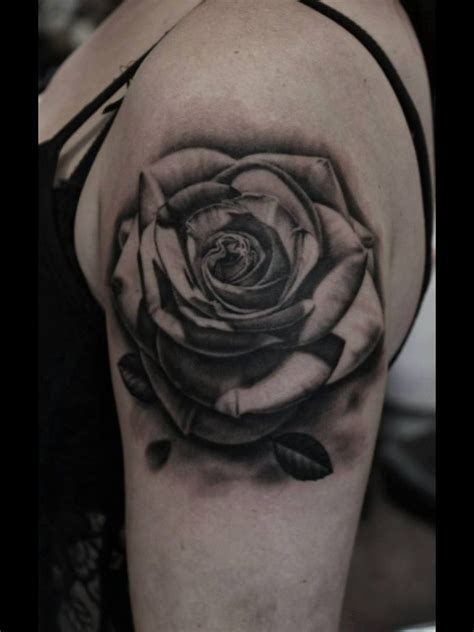 awesome rose tattoos inked black and grey amazing