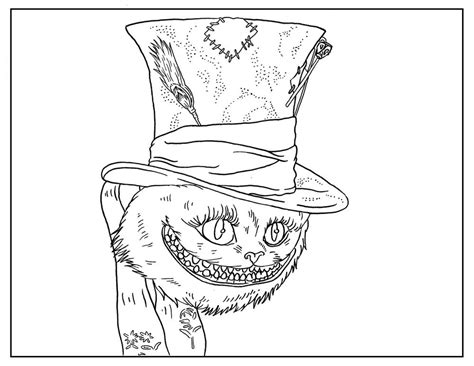 free tim burton coloring pages allfreekidscrafts com