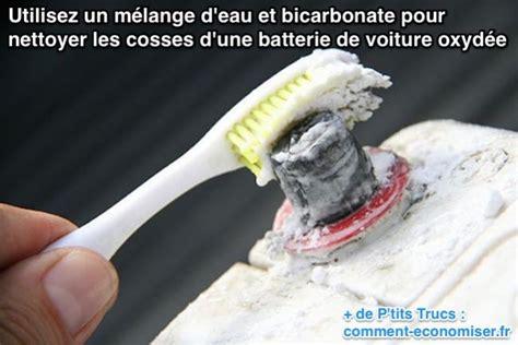 Nettoyer Laiton Avec Bicarbonate Soude by Voici Comment Nettoyer Facilement Une Batterie De Voiture