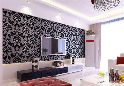wallpaper 3d ruang tamu variasi model pagar tembok minimalis untuk menunjang