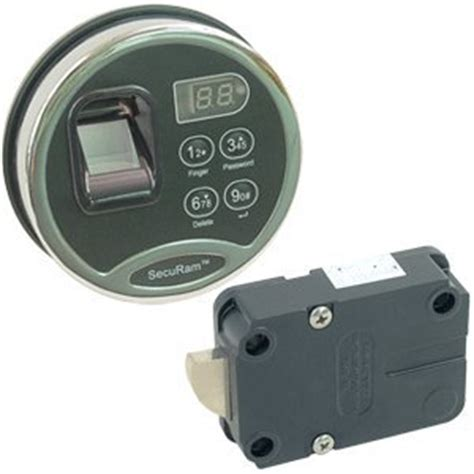 Biometric Cabinet Lock by Securam Bsl 0601 Biometric Safe Lock