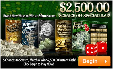 Pch Instant Win Scratch Card - get to pch com fast for scratch off spectacular pch blog