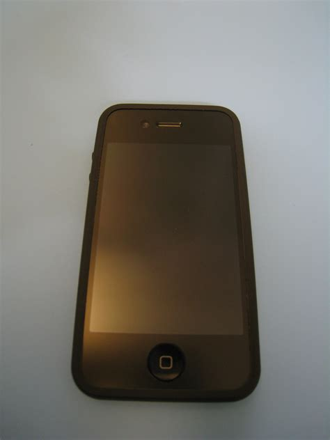 Sgp Iphone 4 Linear Smooth Black Packing Rusak apple iphone 4