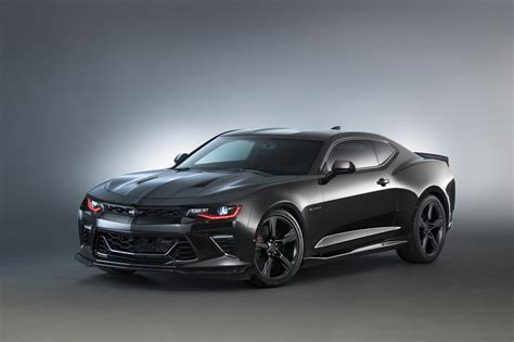 chevrolet camaro and black 2016 chevy camaro black concept at sema gm authority