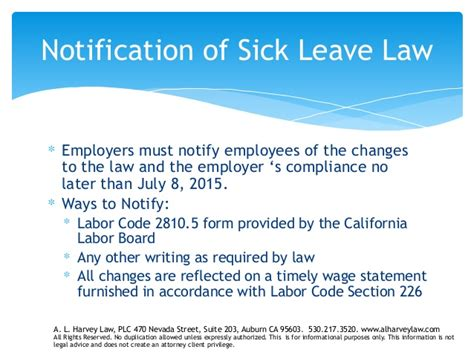 labor code section 203 california sick leave law