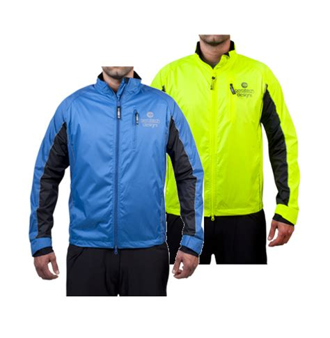 reflective bike jacket s illuminite reflective windbreaker triathlon jacket aero