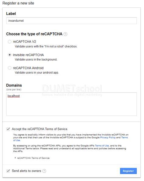 cara membuat akun google melalui hp google recaptcha php tutorial phpsourcecode net