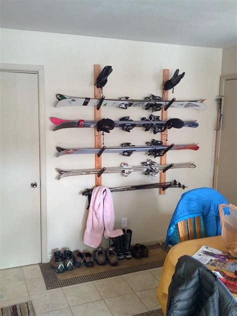 Garage Ski Storage Ideas 25 Best Ideas About Ski Rack On