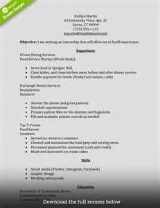 how to write internship resume how to write a perfect internship resume examples included how to write resume for internship recentresumes com