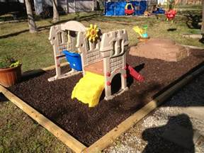 backyard playground mulch 11 best images about backyard play area on pinterest outdoor play spaces hooks and
