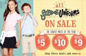 old navy coupons uniforms old navy school uniforms starting at 5 00 my frugal