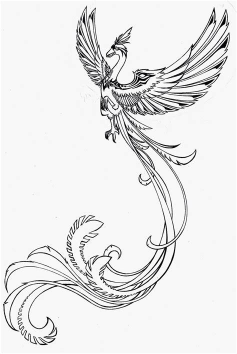 tattoo phoenix black and white phoenix tattoos for women