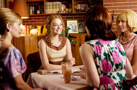 help film emma stone the help movie images emma stone viola davis collider