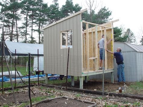 Chicken Coop Construction Part 5 Side Walls And Roof Trusses