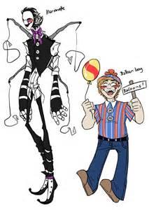 Marionette and balloon boy by blasticheart on deviantart