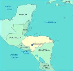 honduras south america map viaje de why honduras