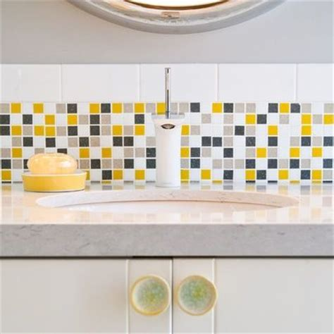 yellow kitchen backsplash ideas yellow backsplash grey yellow and white backsplash