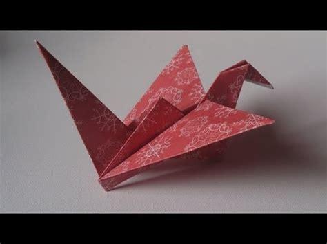 Origami L - origami l oiseau qui bat des ailes