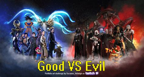 good vs evil theme in lord of the flies good vs evil art challenge by suzanne helmigh on deviantart
