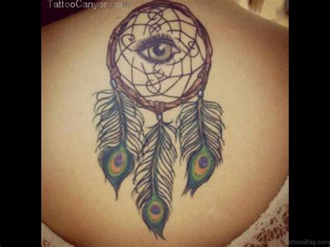 dreamcatcher design tattoo 50 wonderful dreamcatcher tattoos on back