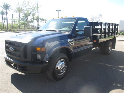 used trucks used 2003 gmc w4500 stake body truck for sale in az 1729