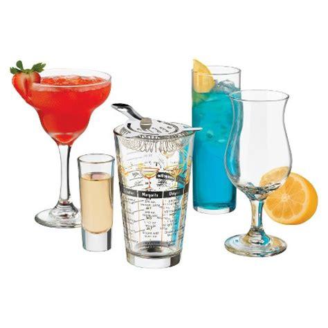 Bar Glassware Set Libbey Bar In A Box 18 Glassware Set Target