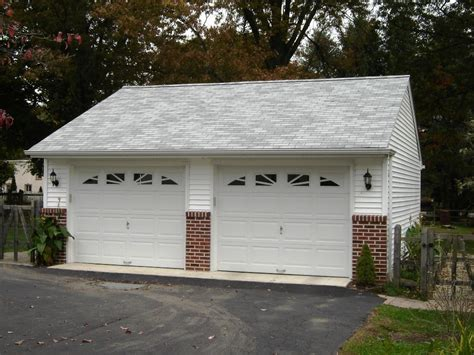 Custom 2 Car Garage by 2 Car Garages Garages By Opdyke