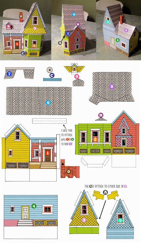 bum up house printable template