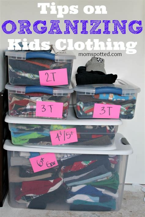 tips on organizing how to organize kids clothing tips on storing closet use
