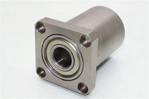 bearing housing nsk 6204z 20mm x 47mm dual ball bearing flange rotary