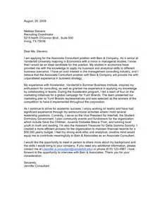 Consulting Firm Cover Letter by Consultant Cover Letters Templates Basic Resume Templates