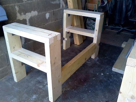 bureau bois recyclé id 233 garage rangement