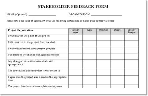project feedback form template the principles of project management sitepoint premium