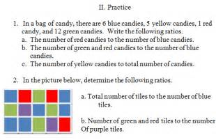 ratio and proportions worksheet with answer key math