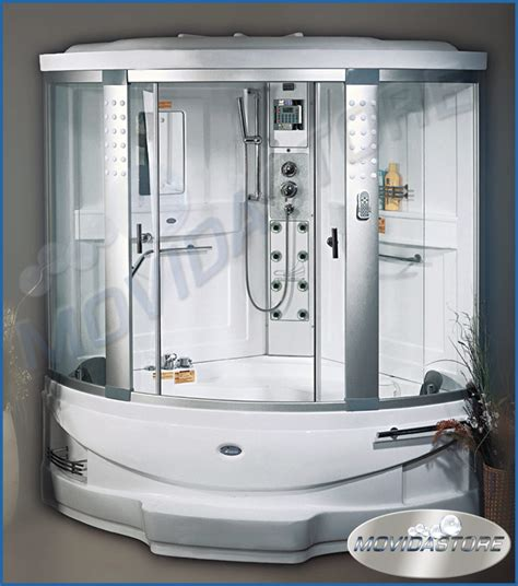 vasca angolare con doccia box cabina doccia idrosauna sauna vasca idromassaggio