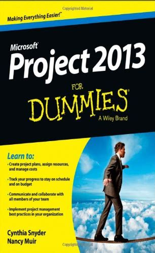 Project 2010 For Dummies microsoft project books project smart