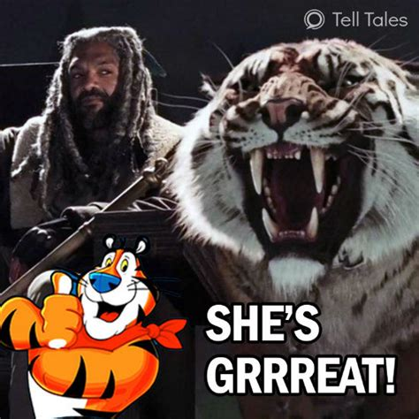 Tony The Tiger Meme - these walking dead memes will make you laugh your guts out