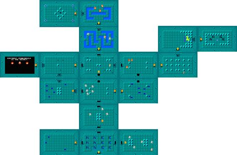 legend of zelda map quest 1 level 1 first quest zeldapedia fandom powered by wikia