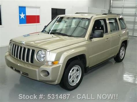 Jeep Patriot Cruise Not Working Purchase Used 2010 Jeep Patriot Sport 2 4l Auto Cruise