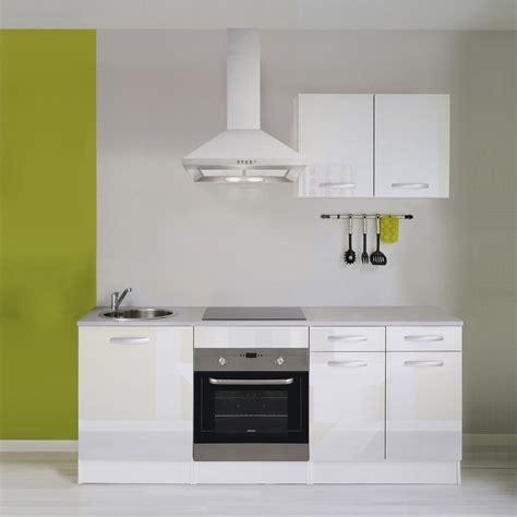 Incroyable Cuisine Equipee Avec Electromenager Leroy Merlin #3: meuble-de-cuisine-blanc-brillant.jpg