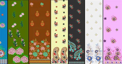 Handcraft Designs - premium range daman embroidery design embroidery