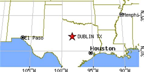 dublin texas map dublin texas tx population data races housing economy