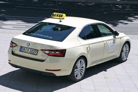 Taxi Auto Kaufen by Taxi Des Jahres 2015 Doppelsieg F 252 R Den Skoda Superb